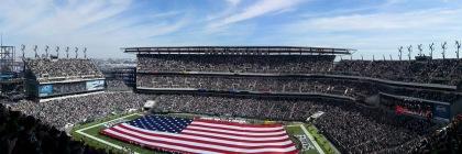 Philadelphia Eagles football stadium, 2013 Credit: Matt Hecht/Flickr/Public Domain