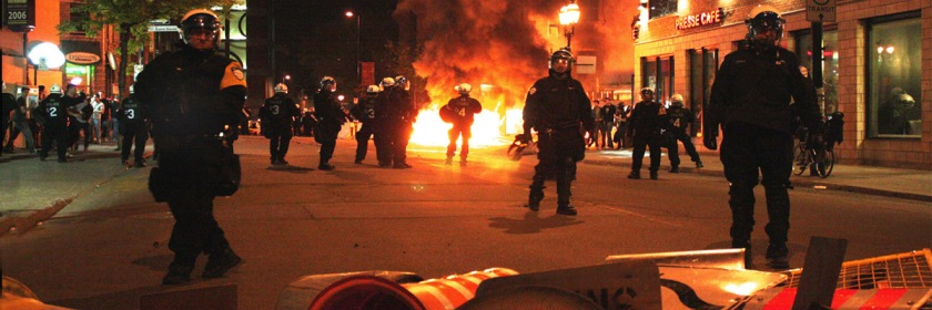 Montreal student riot May 19, 2012 Credit: scottmontreal/Flickr