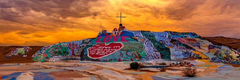 Salvation Mountain, Colorado Credit: slworking2/Flickr/Creative Commons