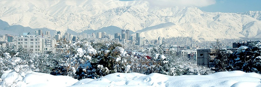 God is moving in Iran. Tehran, Iran in the winter 2006 Credit: Siamax/Wikipedia