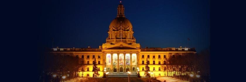 Alberta Legislature Wikipedia/GPL