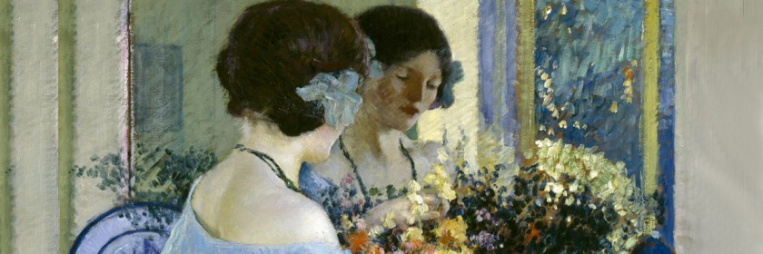 Painting by Frederick Carl Frieseke (1874-1939) Credit: Museum of Fine Arts, Houston/Wikipedia