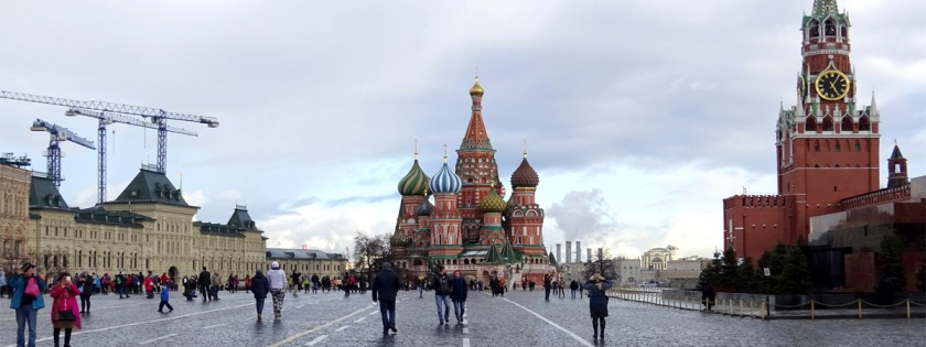 Moscow's Red Square Credit: viktor/Flickr