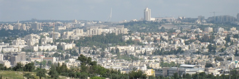 Jerusalem, Israel's capital city Credit: Deror avi/Wikipedia