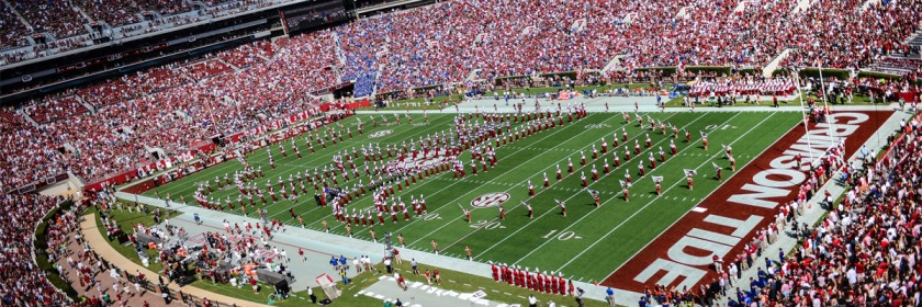 Alabama Crimson Tide home field Credit: Mike C/Flickr/Creative Commons