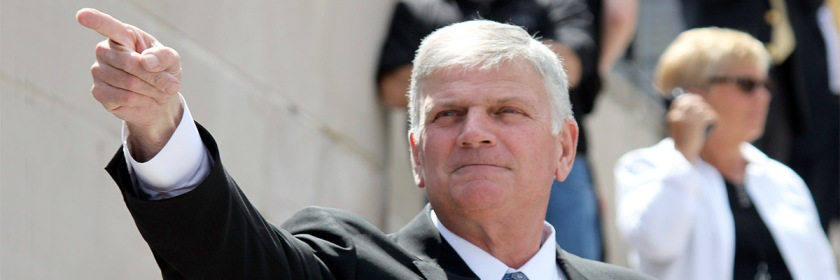 Franklin Graham Credit: cornstalker/Wikipedia