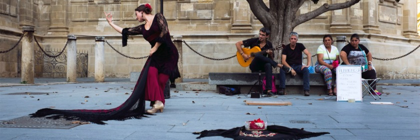 Flamenco dance, Seville, Spain Credit: Laurence Vagner/Flickr/Creative Commons