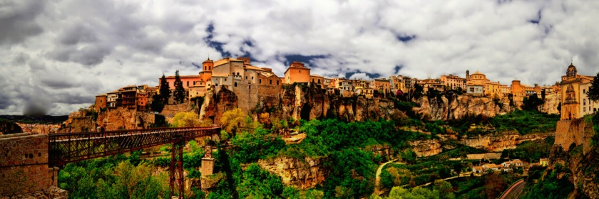 Casas colgadas de Cuenca, Spain Credit: Jose Luis Mieza/Flickr/Creative Commons