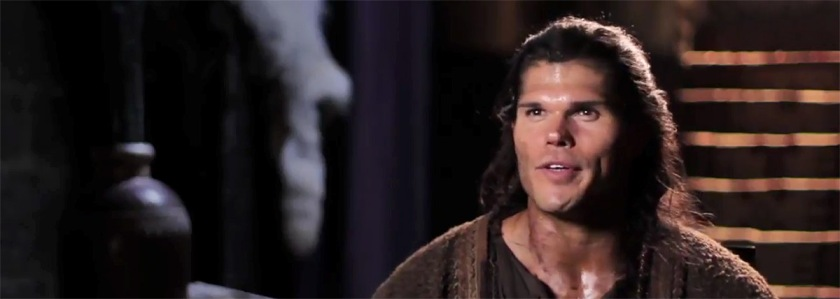 """Taylor James from """"Samson"""" YouTube Capture"""