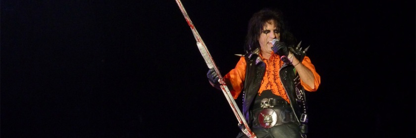 Alice Cooper performing at Alexandra Palace in London, England 2011 Credit: Kimon Froussios/Flickr/Creative Commons