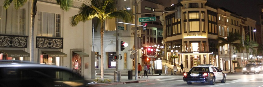 Rodeo Drive, Beverly Hills, California Credit: Mikel Agirregabiria/Flickr/Creative Commons