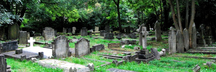 Grave yard in London, England Credit: frattaglia/Flickr/Creative Commons