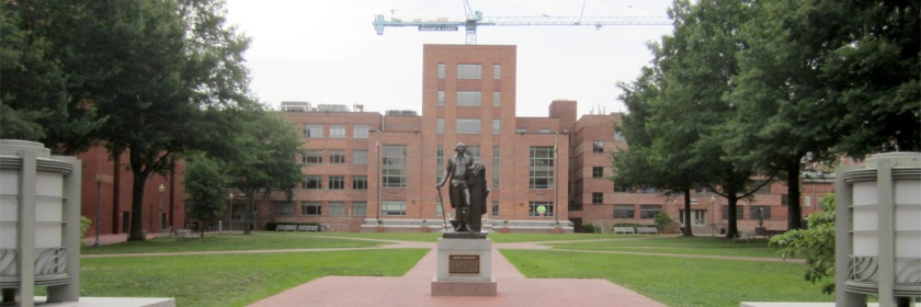 George Washington University's Foggy Bottom campus Credit: another believer/Wikipedia/Creative Commons