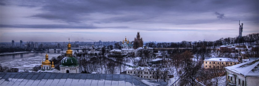 Last winter, Europe experienced a brutally cold winter Photo: Kiev, Ukraine Credit: Trey Ratcliff/Flickr/Creative Commons