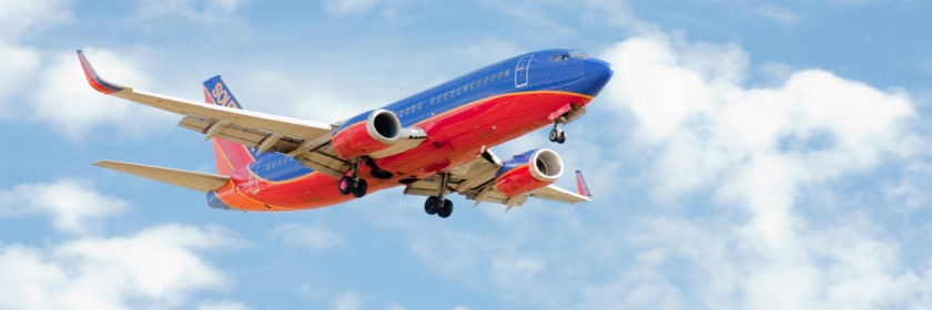 Southwest Airline jet Credit: David デビッド Deitering/Flickr/Creative Commons