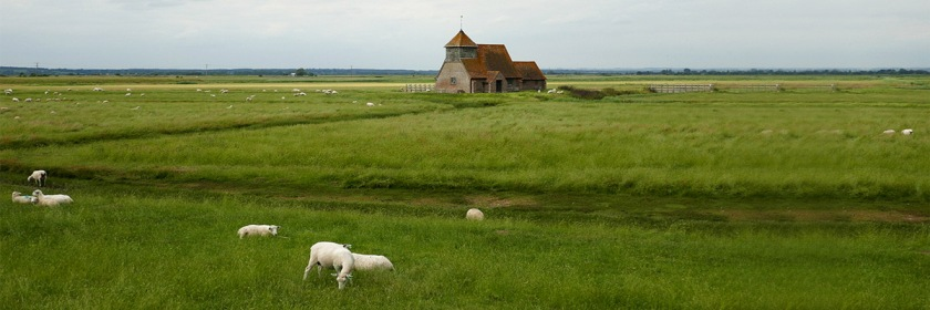 Church in rural England Credit: Peter Smithson/Flickr/Creative Commons