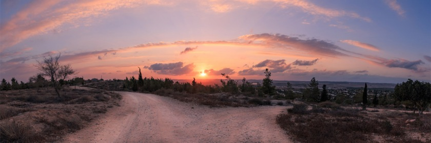An Israeli sunset Credit: Israel Nature Photographers/Flickr/Creative Commons
