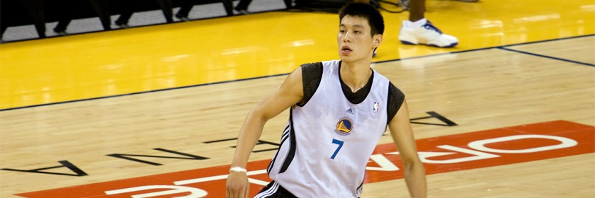 Christian NBA star Jeremy Lin Credit: Christian/Flickr/Creative Commons