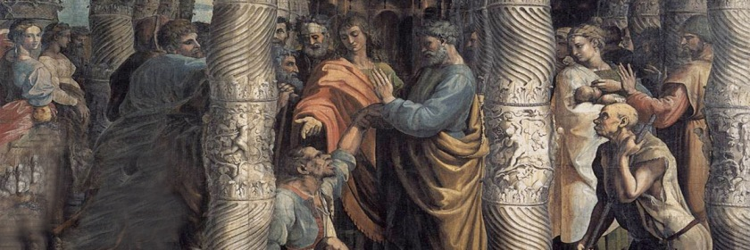 Peter healing the lame man by Raphael (1483-1520) Credit: Wikipedia/Creative Commons/{{PD-US}}
