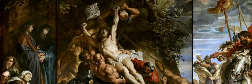 Raising of the cross by Peter Paul Ruben (1577-1640) Credit: Wikipedia