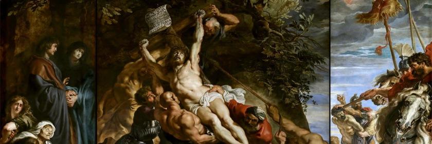 Raising of the cross by Peter Paul Ruben (1577-1640) Credit: Wikipedia