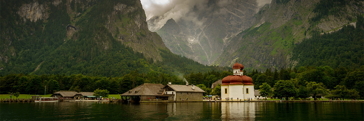 St Bartholomew's Church in Berchtesgadener Land, in Bavaria, Germany. As one of the 12 Apostles, Bartholomew is considered the Apostle to Germany as it is believed he was the first to bring the gospel to that country. Credit: Nuno Vilela/Flickr/Creative Commons