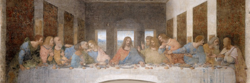 The Last Supper by Leonardo Da Vinci (1452-1519) Credit: Wikipedia
