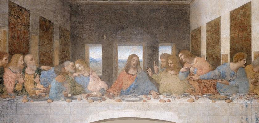 The Last Supper by Leonardo Da Vinci (1452-1519) Credit: Wikipedia