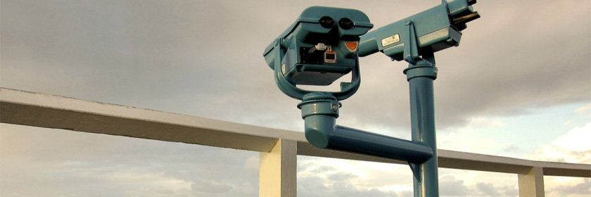 Binoculars set up on Byron Bay, New South Wales, Australia Credit: Instrinsic Image/Flickr/Creative Commons