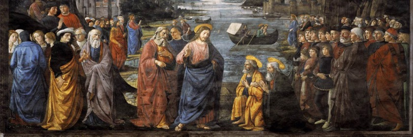 Calling of the Apostles by Domenico Ghirlandaio (1448 - 1494) Credit: Perledarte/Flickr/Creative Commons