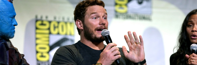 Chris Pratt at the San Diego Comic Con in 2016 Credit: Gage Skidmore/Flickr/Creative Commons