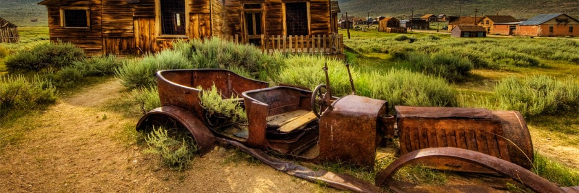 Rusty car in Bodie, California Credit: Wolfgang Staudt/Flickr/Creative Commons