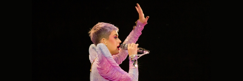 Katy Perry in her 2018 Witness tour Credit: Giorgio Erriquez/Flickr/Creative Commons