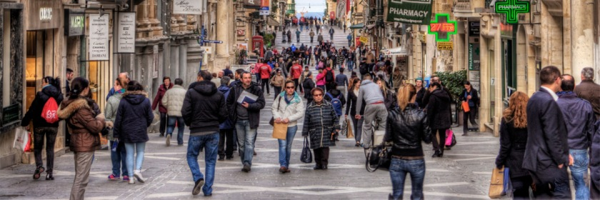Main street of Valletta, Malta Credit: Neil Howard/Flickr/Creative Commons