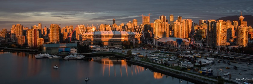 Vancouver sunrise Credit: Ted McGrath/Flickr/Creative Commons