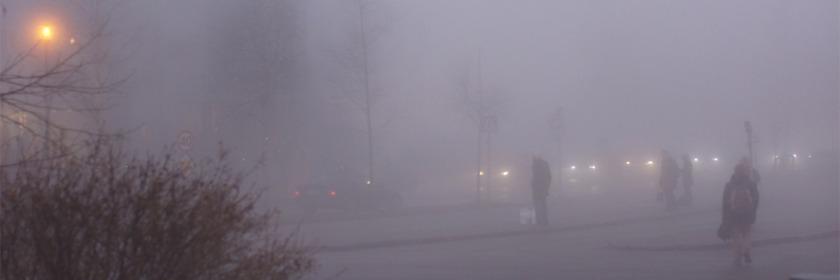Fog in Tronheim, Norway Credit: Ksenia Novikova/Flickr/Creative Commons