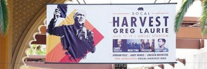 Harvest Crusade Billboard that was pulled down: Credit CBN