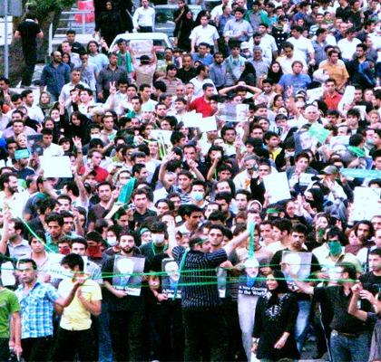Protests in Iran Credit: Javad Saharban/Flickr/Creative Commons