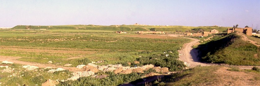 The main mound of the ancient city of Nineveh on the Plains of Nineveh Credit: fredarch/Wikipedia/Creative Commons