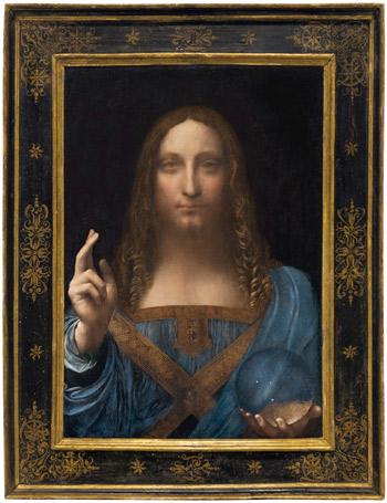 Salvator Mundi (Savior of the World) by Leonardo da Vinci (1452-1519) Credit: Wikipedia