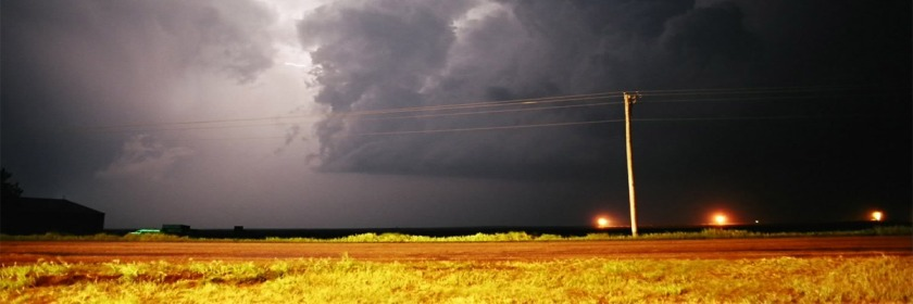 Storm near Garden City, Kansas, US Credit: Dave Sills/Flickr/Creative Commons