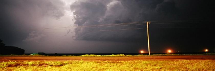 Storm near Garden City, Kansas, US Credit: Dave Sills/Flickr/Creative Commons