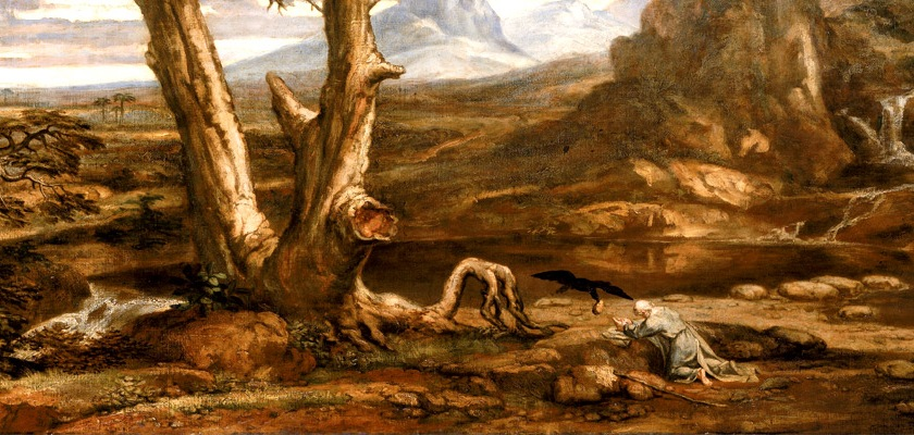 Elijah in the wilderness by Washington Allston (1779-1843)/Wikipedia/Creative Commons