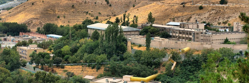The notorious Evin Prison north of Tehran, Iran Credit: Yaadaavar/Flickr/Creative Commons
