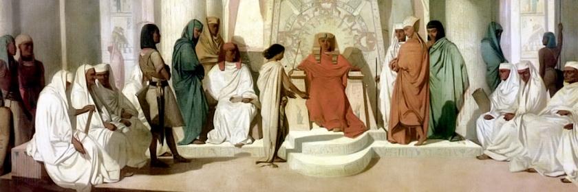 Joseph interprets the dreams of the Pharaoh by Adrien Guignet (1816-1854): Wikipedia/Creative Commons