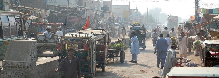 Pakistan Credit: Gordon Dickson/Flickr/Creative Commons