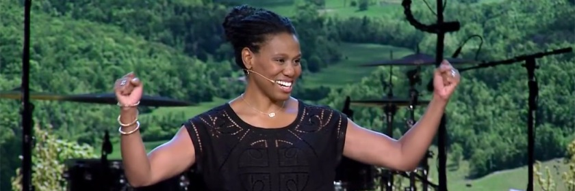 Priscilla Shirer: YouTube capture