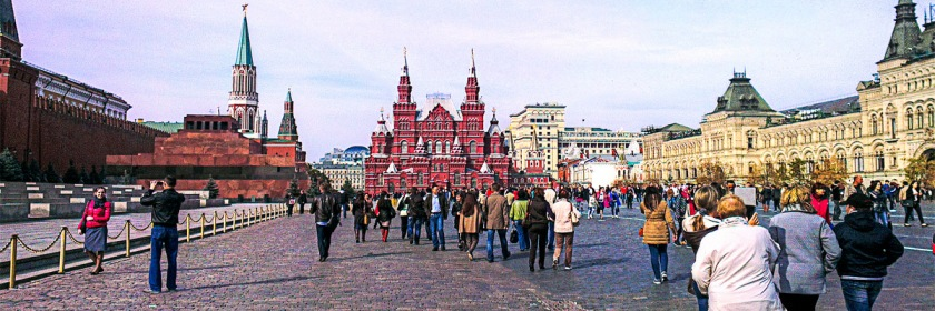 Red Square, Moscow Credit: Matt Shalvatis/Flickr/Creative Commons
