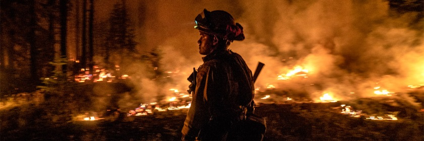 California fire in August 2018 Credit: Forest Service. USDA/Public Domain