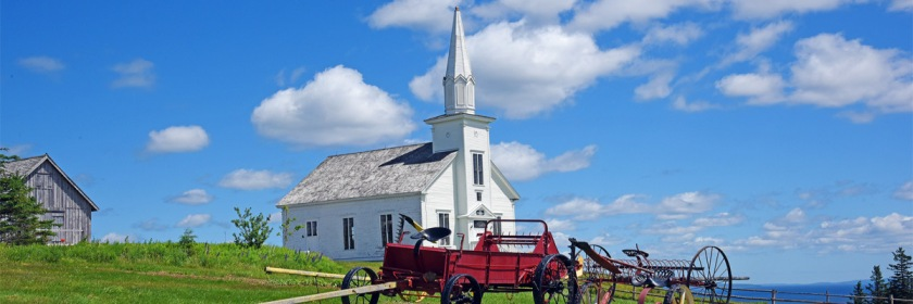 United Church on Cape Breton Island, Nova Scotia Canada converted into a museum. Credit: Harvey Barrrison/Flickr/Creative Commons